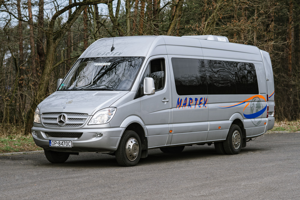 MIKROBUS MERCEDES SPRINTER 19+2 - Martex